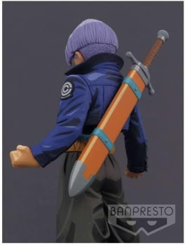 Dragon Ball Z - The Trunks - Master Star Piece Manga Dimensions - Bandai Banpresto