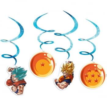 Enfeite Mobile - Dragon Ball Super - 04 Unidades - Festcolor