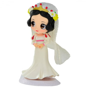 Q Posket Branca de Neve Dreamy Style - Disney Characters Snow White Banpresto