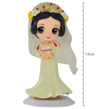 Q Posket Branca de Neve Dreamy Style Ver B - Disney Characters Snow White Banpresto