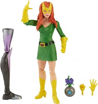 Marvel Legends Marvel Girl Jean Grey X-Men BAF Tri-Sentinel