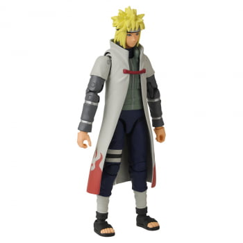 Boneco Articulado Naruto Shippuden Minato Namikaze Anime Heroes Bandai