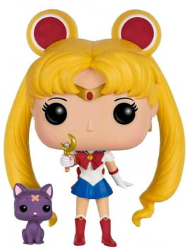 Funko Pop Sailor Moon w Moon Stick & Luna 90 Sailor Moon