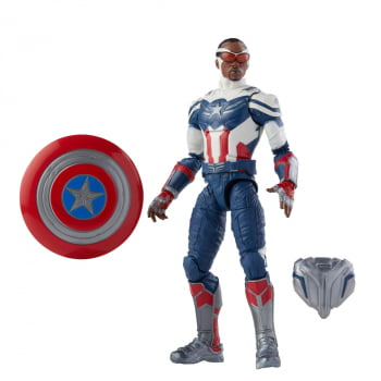 Marvel Legends Captain America Sam Wilson - BAF The Falcon And The Winter Soldier