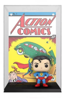 Funko Pop Superman Action Comics 01 Comic Covers