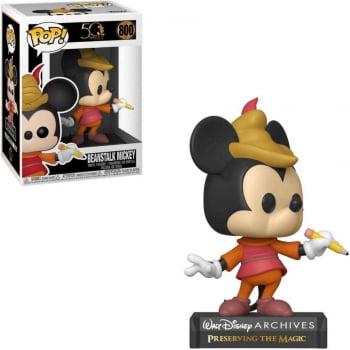 Boneco Funko Pop Beanstalk Mickey 800 Disney Archives 50th