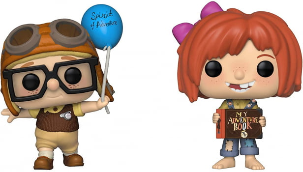 Funko Pop Carl & Ellie 2-Pack SDCC Up! Altas Aventuras