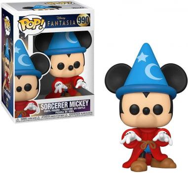 Funko Pop Mickey Mouse 990 Sorcerer Mickey Fantasia