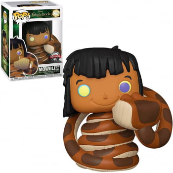 Funko Pop Mowgli with Kaa 987 Mogli o Menino Lobo