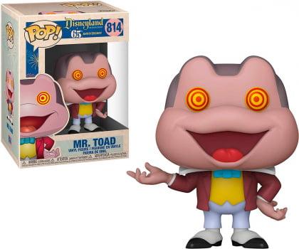 Funko Pop Mr. Toad Spinning Eyes 814 Disneyland 65th Anniversary