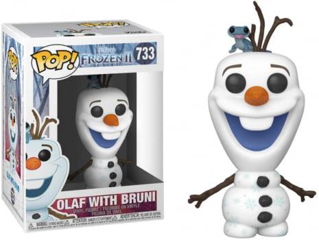 Funko Pop Olaf with Bruni 733 Disney Frozen II