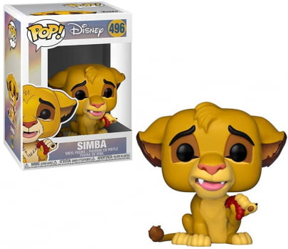 Funko Pop Simba 496 Lion King O Rei Leão