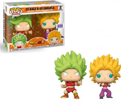 Funko Pop SS Kale & SS Caulifla 2-Pack Funimation Exc Dragon Ball Super