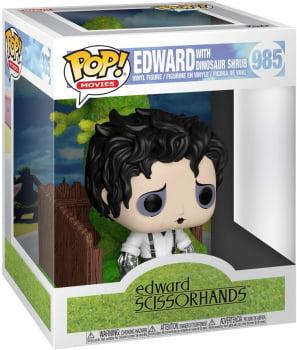 Funko Pop Edward Scissorhands With Dinosaur Shrub 985 Edward Mãos de Tesoura