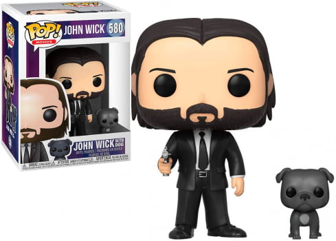 Funko Pop John Wick with Dog 580 John Wick