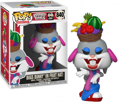 Funko Pop Pernalonga 840 Bugs Bunny In Fruit Hat