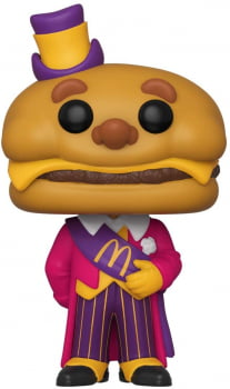 Funko Pop Mayor McCheese 88 McDonald's Ad Icons