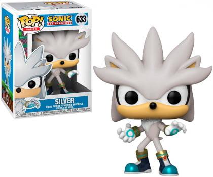 Funko Pop Silver 633 Sonic The Hedgehog