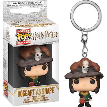 Chaveiro Boggart as Snape Funko Pop Pocket Keychain Harry Potter