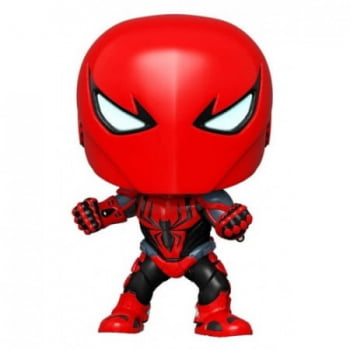 Funko Pop Homem Aranha Spider-Armor MK III 670 Marvel