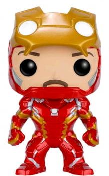 Funko Pop Homem de Ferro 136 Iron Man Civil War