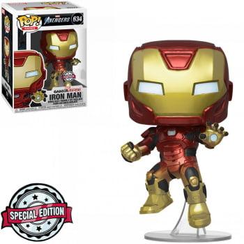 Funko Pop Homem de Ferro 634 - Gamerverse Vingadores Iron Man