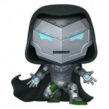 Funko Pop Infamous Iron Man 677 GITD Infame Homem de Ferro
