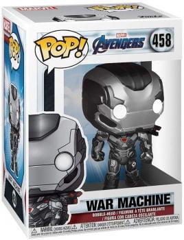 Funko Pop War Machine 458 Máquina de Combate Vingadores Ultimato
