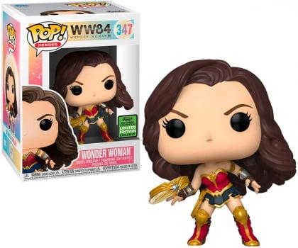 Funko Pop Mulher Maravilha 347 ECCC Wonder Woman 1984