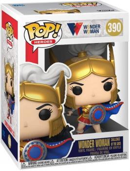 Funko Pop Mulher Maravilha Challenge of the Gods 390 Wonder Woman