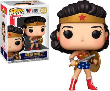 Funko Pop Mulher Maravilha Golden Age 383 Wonder Woman