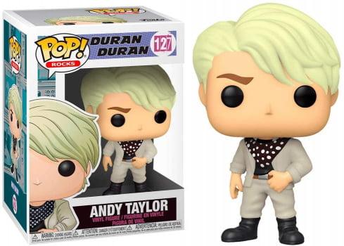 Funko Pop Andy Taylor 127 Duran Duran Funko Pop Rocks