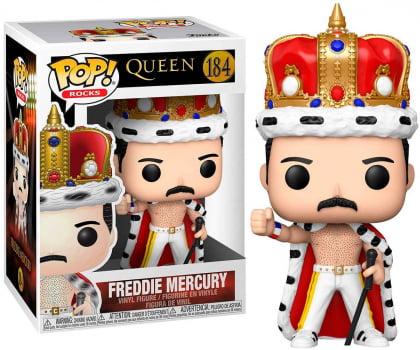 Funko Pop Freddie Mercury King 184 Queen Funko Pop Rocks