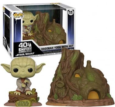 Funko Pop Dagobah Yoda with Hut 11 Star Wars