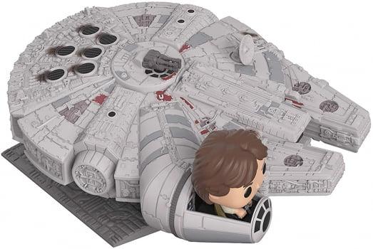 Funko Pop Millenium Falcon Han Solo Deluxe 321 Star Wars