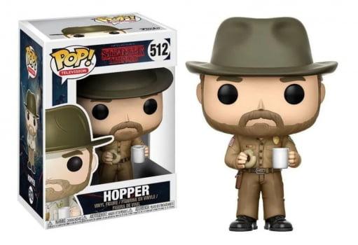 Funko Pop Hopper with Donut 512 Stranger Things