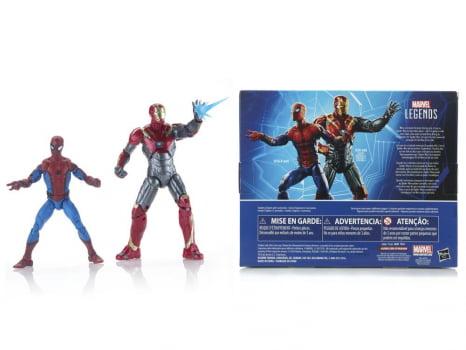 Marvel Legends Homem Aranha e Iron Man Sentry - Spider-Man Homecoming