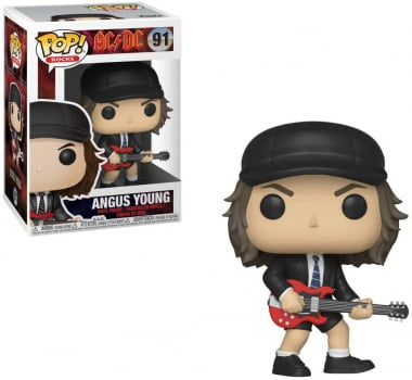Funko Pop Angus Young 91 AC DC Rocks