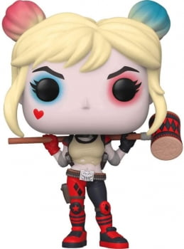Funko Pop Arlequina Harley Quinn W Mallet 301 DC Heroes