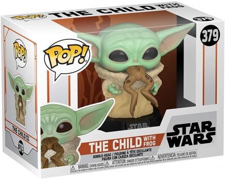 Funko Pop Baby Yoda 379 The Child w Frog - Mandalorian
