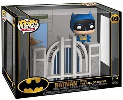 Funko Pop Batman w The Hall Of Justice 09 Funko Pop Town