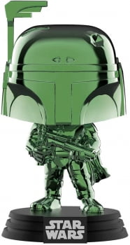 Funko Pop Boba Fett 297 SDCC Chrome Green - Star Wars