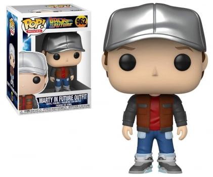 Funko Pop De Volta Para o Futuro Marty McFly Future Outfit 962