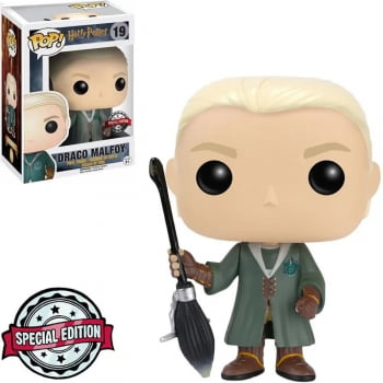 Funko Pop Draco Malfoy Quidditch 19 - Harry Potter