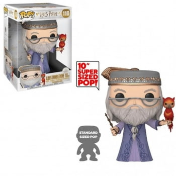 Funko Pop Dumbledore w Fawkes 110 10 Polegadas - Harry Potter