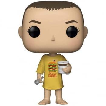 Funko Pop Eleven Burger T-shirt 718 Stranger Things