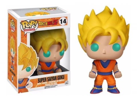 Funko Pop Goku Super Saiyan 14 Dragon Ball Z