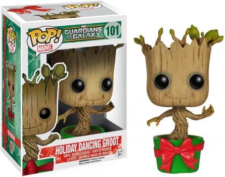 Funko Pop Groot Holiday Dancing 101 - Guardiões da Galáxia