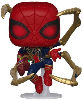 Funko Pop Homem Aranha - Iron Spider Nano Gauntlet 574 Vingadores Ultimato