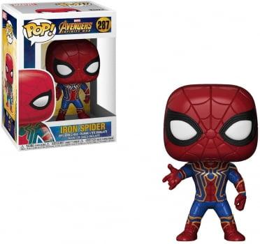 Funko Pop Homem Aranha 287 - Vingadores Iron Spider